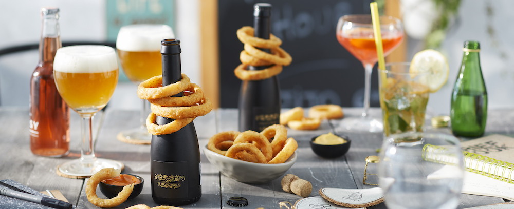 Beer Battered Onion Rings – Thin
