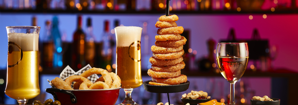 Beer Battered Onion Rings – Thick – Olutpaneroitu sipulirengas
